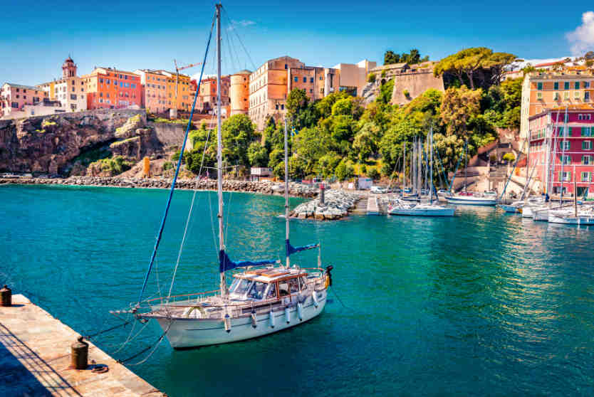 Bastia Port Yacht