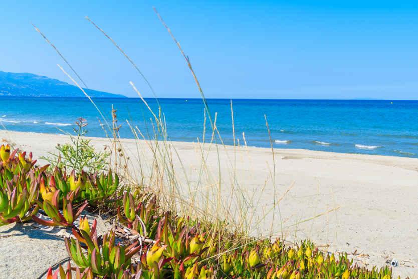 Beach, Haute-Corse