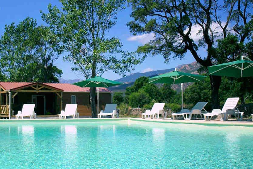Swimming Pool at Camping Cupulatta, Corsica