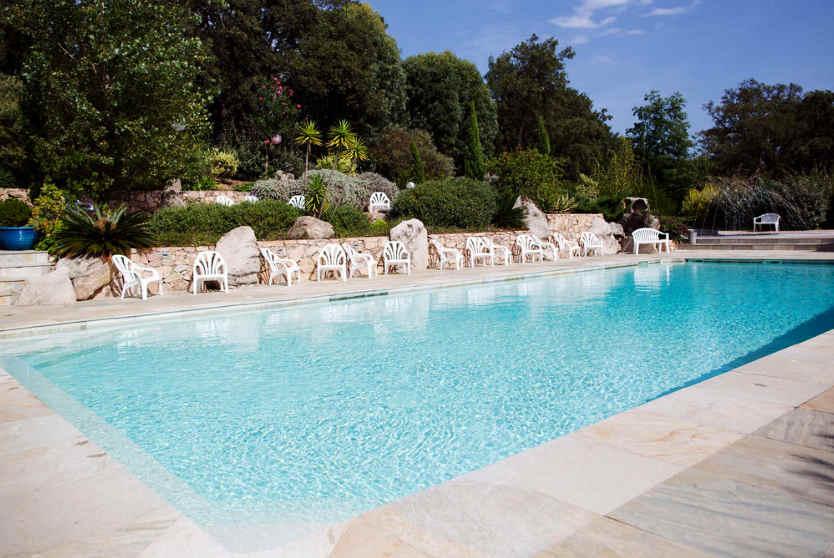 Camping La Vetta Pool, Corsica