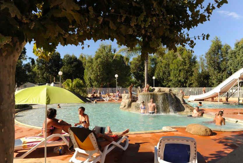 Camping Les Castors Poolside, Corsica