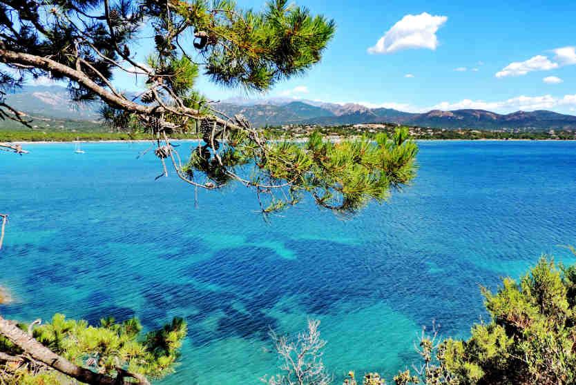 Gulf of Pinarello, Tarcu, Corsica