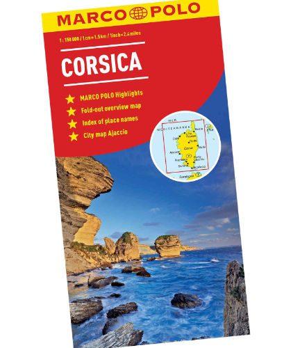 Marco Polo Corsica Map
