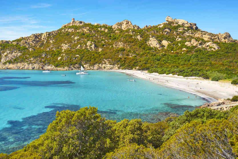 Roccapina Beach near Pianottoli-Caldarello, Corsica