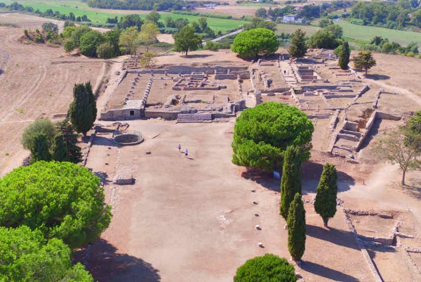 Roman Ruins at Aleria, Corsica